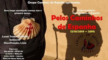 Festival 'Pelos Caminhos de Espanha', en Santos