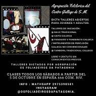 Talleres de folclore tradicional gallego del Centro Gallego de Comodoro Rivadavia