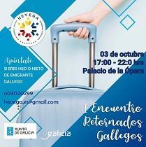 1º Encuentro de Retornados/as Gallegos/as, en A Coruña