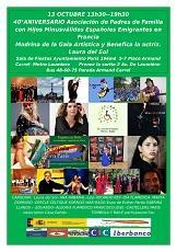 Gala artística y benéfica 2019 en favor de la Asociación de Padres de Familia con Hijos Minusválidos Españoles Emigrantes en Francia