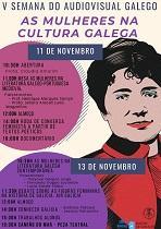 Vª Semana del Audiovisual Gallego 2019 - Las mujeres en la cultura gallega', en Río de Janeiro