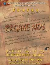 """""""Bagaxe Nós"""", no Centro Galicia de Bos Aires"""