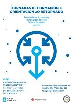 Jornadas de formación y orientación al retorno, en Vigo