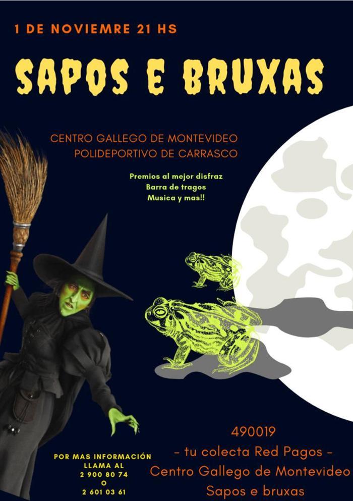 """""""Sapos e Bruxas"""" en Montevideo"""