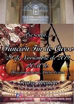 Función Fin de Curso 2019 das Escolas de Cultura do Centro Galicia de Bos Aires