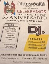 55º aniversario do Centro Orensano de Nova Jersey
