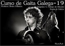 Taller de gaita gallega 2019, en Alicante