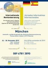 Jornadas informativas hispano-alemanas sobre pensiones, en Múnich