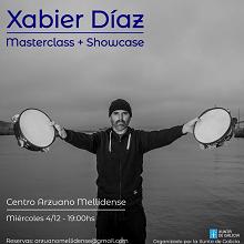 Masterclass de canto e instrumentos tradicionais de percusión a cargo de Xabier Díaz, en Bos Aires