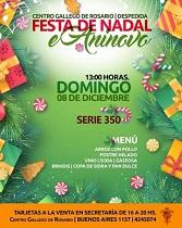 Festa do Nadal 2019 e Aninovo 2020 do Centro Galego de Rosario