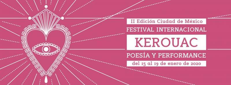 II Festival Internacional Kerouac en Cidade de México - 2020