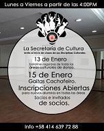 Clases de baile e gaita 2020 do Centro Gallego de Maracaibo