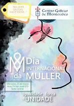 Día Internacional da Muller 2020 do Centro Galego de Montevideo