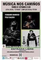 Música nos Camiños - Concerto de Fernando Barroso, en Castelló