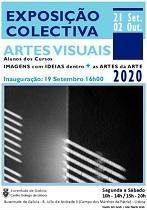 Exposición colectiva do alumnado dos cursos de artes visuais da Xuventude de Galicia - Centro Galego de Lisboa