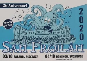 San Froilán Nou Barris 2020