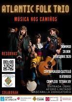 Música nos Camiños - Concerto de Atlantic Folk Trío, en Castelló