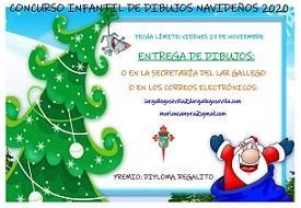 Concurso infantil de debuxos do Nadal 2020 do Lar Galego de Sevilla