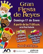Festa de Reis 2021 na Hermandad Gallega de Venezuela