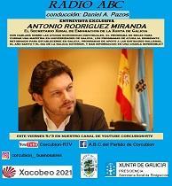 Entrevista ao secretario xeral da Emigración na Radio ABC do Partido de Corcubión de Bos Aires