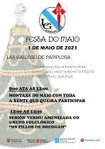 Festa dos Maios 2021 do Lar Galego de Pamplona