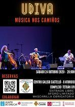 Música nos Camiños - Concertos de Los Hermanos Cubero e Carles Dénia, en Castelló