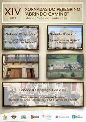 """XIV Xornadas do Peregrino """"Abrindo Camiño"""", en Mondoñedo - 2021"""
