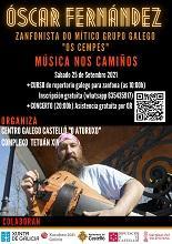 Música nos Camiños - Concerto de Óscar Fernández, en Castelló