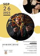 Masterclass de pandeireta e concerto de Xabier Díaz, en Alcalá de Henares