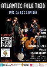 Música nos Camiños - Concerto de Atlantic Folk Trío, no Centro Galego de Castelló