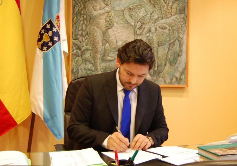 O secretario xeral da Emigración, Antonio Rodríguez Miranda, nunha foto de arquivo.