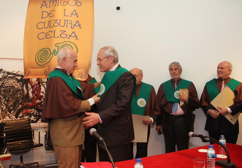 O colectivo 'Amigos da Cultura Celta' celebrou o seu VI Encontro na Casa de Galicia en Madrid