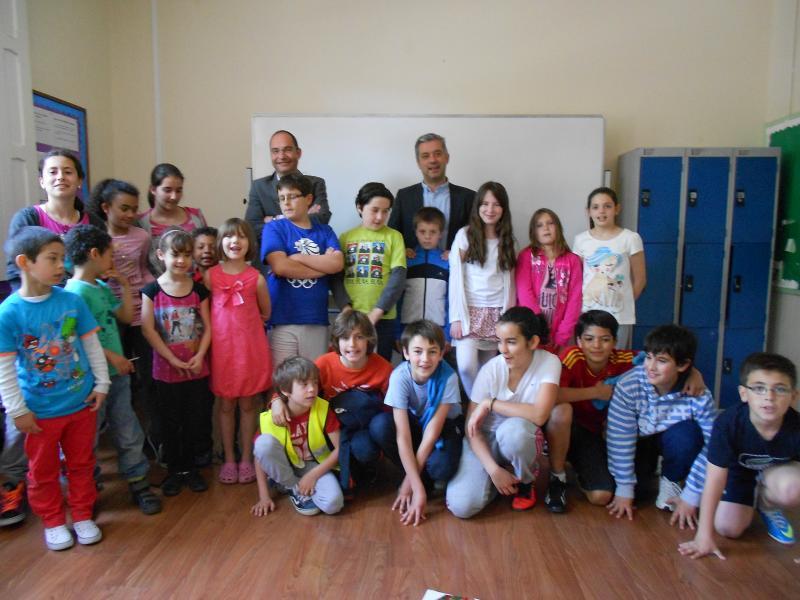 O secretario xeral de Política Lingüística visitou o Instituto Español Vicente Cañada Blanch de Londres