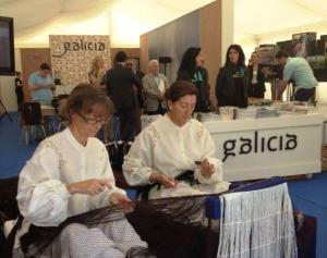 En el área expositiva de Galicia se puede acceder a muestras de nuestra gastronomía, diseño, o información turística