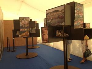 Na área expositiva de Galicia neste evento pódese acceder a mostras da nosa gastronomía, deseño, ou información turística