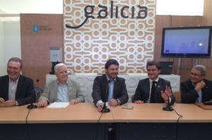 Presentación celebrada esta mañá na capital hispalense dentro do 'V Encuentro de Casas Regionales y Provinciales de Andalucía