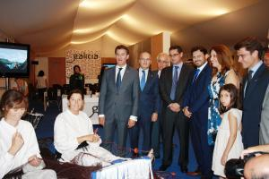 El presidente de la Xunta participó en la inauguración oficial de este V Encuentro, dedicado en esta edición a nuestra comunidad