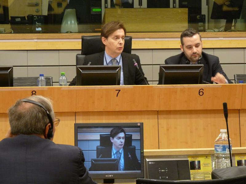 El director xeral de Relacións Exteriores e coa UE, Jesús Gamallo, participó en la reunión de la comisión CIVEX del Comité de las Regiones celebrada hoy en Bruselas