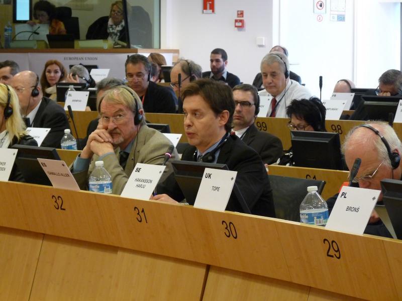 O director xeral de Relacións Exteriores e coa UE, Jesús Gamallo, participou na reunión da comisión CIVEX do Comité das Rexións celebrada hoxe en Bruxelas