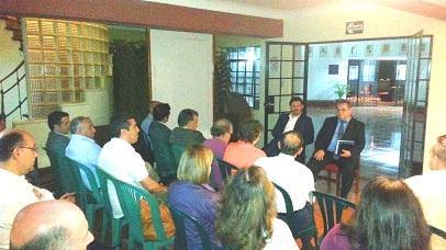 Miranda, con la colectividad de empresarias y empresarios gallegos con negocios en el Perú