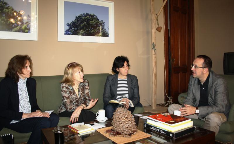 Anxo Lorenzo mantivo senllos encontros con representantes do Ministerio de Cultura do Goberno da Cidade Autónoma de Buenos Aires e tamén da Secretaría de Estado de Cultura