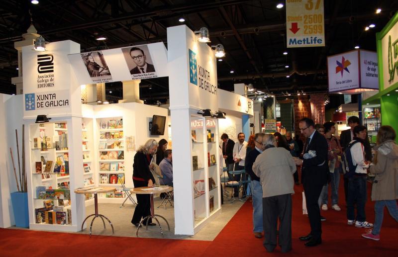 Expositor de Galicia na XL Feira Internacional do Libro de Bos Aires