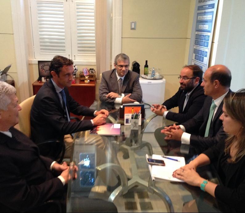 O director xeral do Igape, Javier Aguilera, pechou a súa viaxe a Brasil impulsando un acordo coa Axencia de Desenvolvemento Económico de Pernambuco