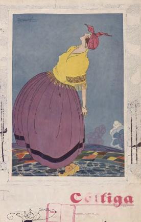 Imagen de la portada del primer número de 'Céltiga', publicado el 30 de septiembre de 1924