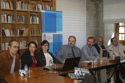 Imagen del acto de presentación celebrado en el Consello da Cultura Galega (Santiago de Compostela)