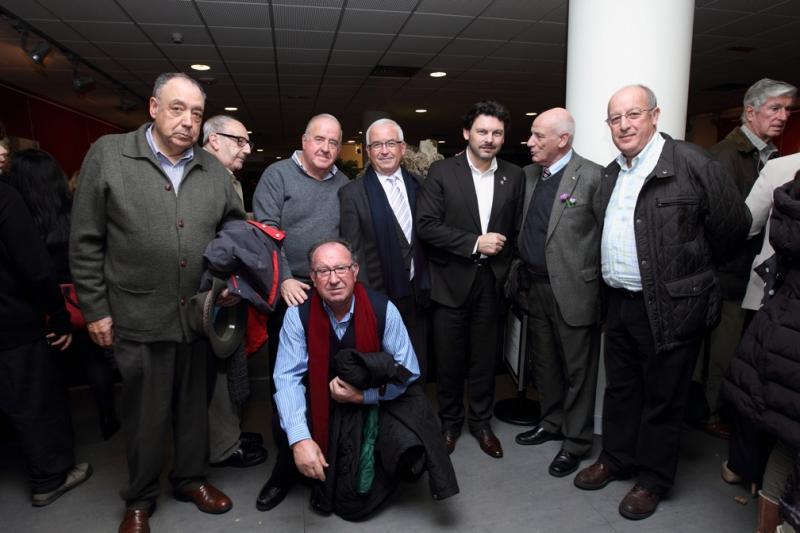 Imaxe da celebración do IIIº Nadal Galego do Club de Xornalistas Galegos en Madrid