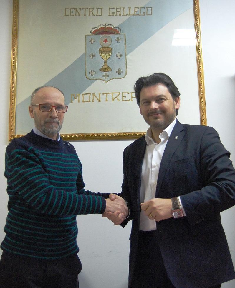 Miranda co presidente do Centro Galego de Montreal