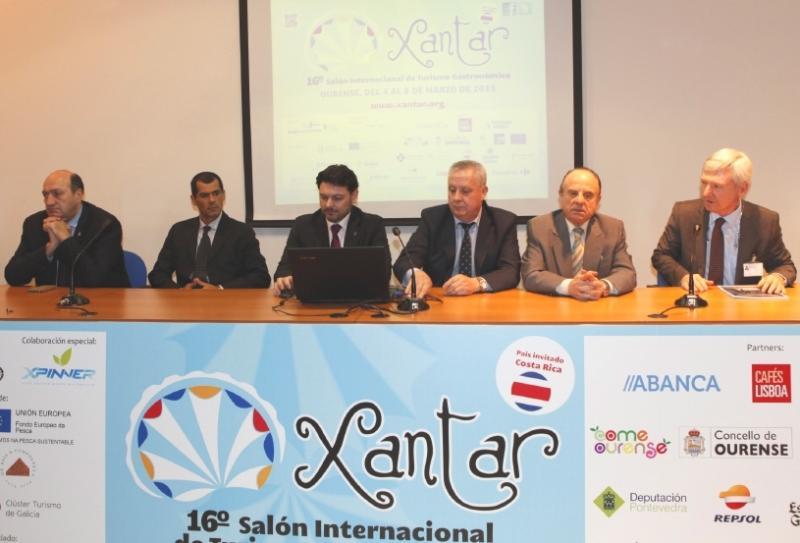 Miranda salienta en 'Xantar' o papel das colectividades galegas como embaixadoras da calidade gastronómica do país