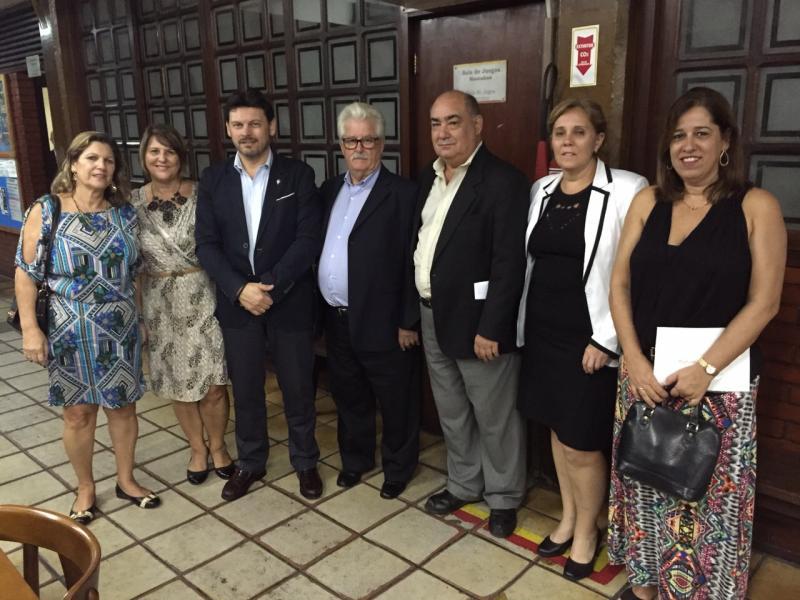 Antonio Rodríguez Miranda con membros do CRE de Río