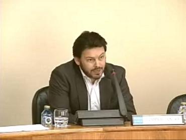 Miranda en la Comisión 1ª del Parlamento de Galicia